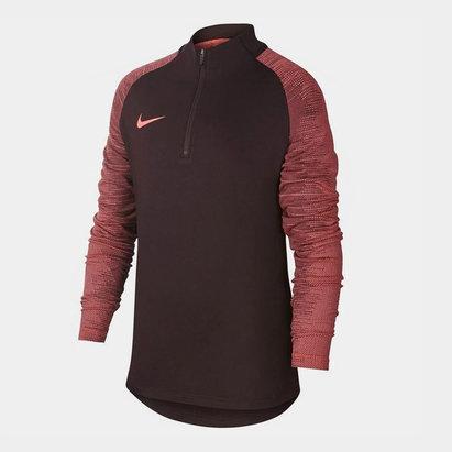 Nike Dri FIT Strike Big Kids Soccer Drill Top