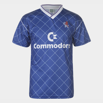 Score Draw Chelsea 1988 S/S Retro Football Shirt