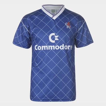 Score Draw Chelsea 1988 S/S Retro Football Shirt