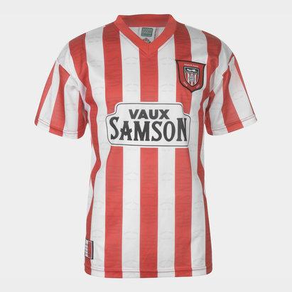 6e97fc1e698 Score Draw Sunderland 97 Retro Football Shirt
