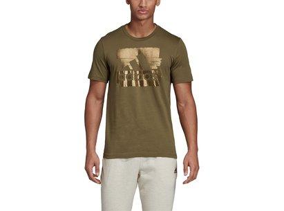adidas Foil T Shirt Mens