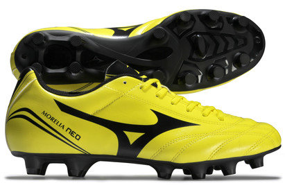 Morelia Neo CL Kids MD FG Football Boots Bolt/Black
