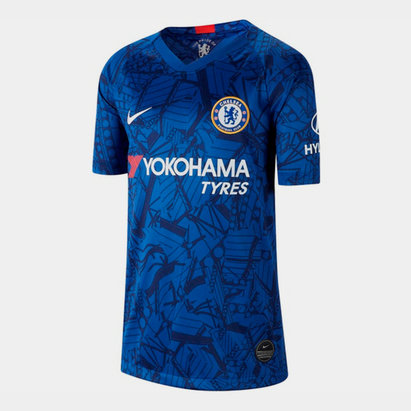 Nike Chelsea 19/20 Kids Home S/S Football Shirt