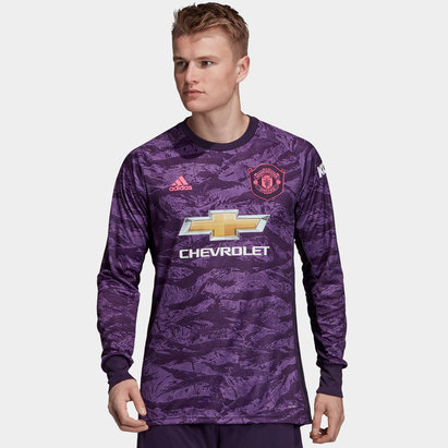 2a7af2a47 adidas Manchester United Home Goalkeeper Shirt 2019 2020