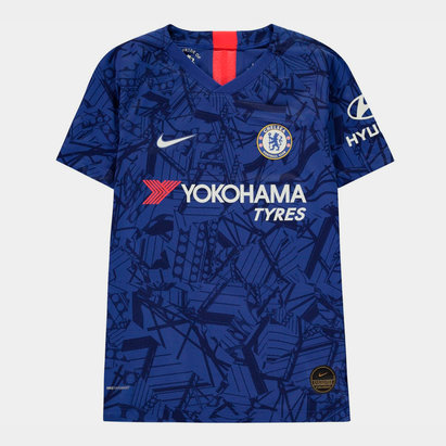 Nike Chelsea 19/20 Kids Home Vapor Match S/S Football Shirt