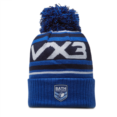 VX3 Bath Rugby League Bobble Hat