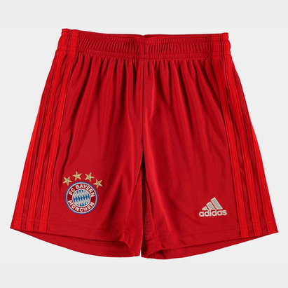 adidas FC Bayern Munich 19/20 Kids Home Football Shorts