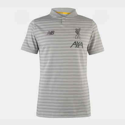 New Balance Liverpool 19/20 Players Travel Polo Shirt
