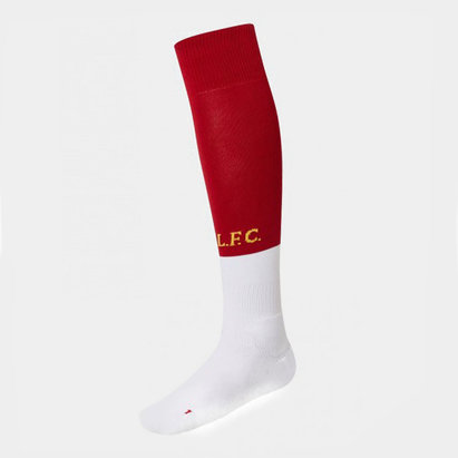 New Balance Liverpool Home Socks Junior 2019 2020