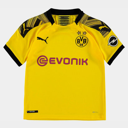 Puma Borussia Dortmund 19/20 Kids Home S/S Football Shirt