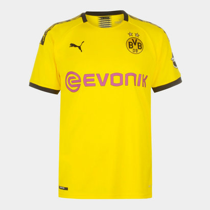 Puma Borussia Dortmund 19/20 Home S/S Football Shirt