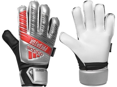 adidas Predator Top Training Fingersave Goalkeeper Gloves Juniors