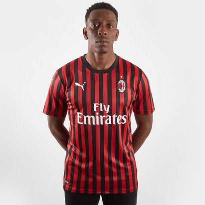 Puma AC Milan 19/20 Home S/S Football Shirt
