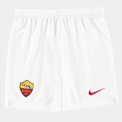 Nike AS Roma 19/20 Kids Home Football Shorts
