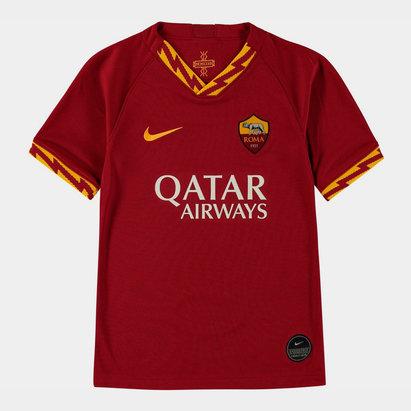 Nike AS Roma 19/20 Kids Home S/S Football Shirt