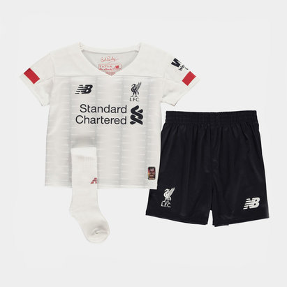 New Balance Liverpool Away Mini Kit 2019 2020