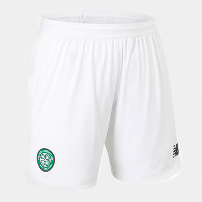 New Balance Celtic 19/20 Home Football Shorts
