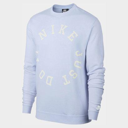 Nike Wash Crew Sweatshirt Mens