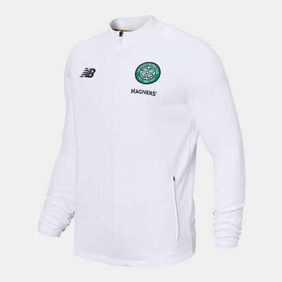 New Balance Celtic 19/20 Players Walk Out Football Jacket