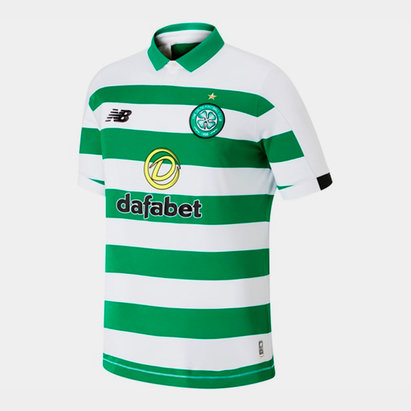 New Balance Celtic 19/20 Home S/S Football Shirt