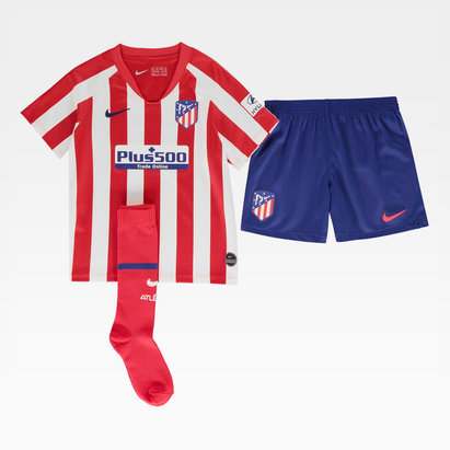 Nike Atletico Madrid 19/20 Home Mini Kids Football Kit