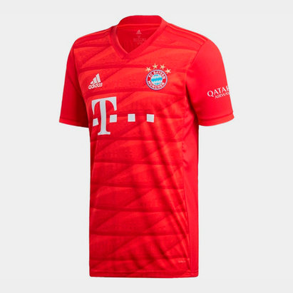 adidas FC Bayern Munich 19/20 Home S/S Football Shirt