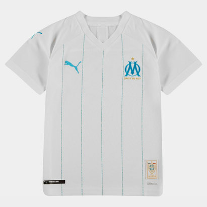 Puma Marseille Home Shirt 2019 2020 Junior
