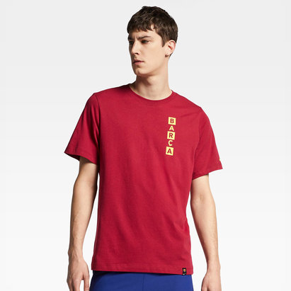 Nike FC Barcelona Story Football T-Shirt