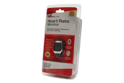 S12 Heart Rate & Pedometer Sports Wrist Watch