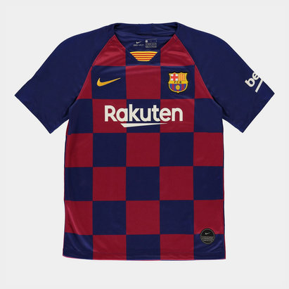 Nike FC Barcelona 19/20 Kids Home S/S Football Shirt