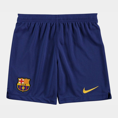 Nike Barcelona Home Shorts 2019 2020 Junior