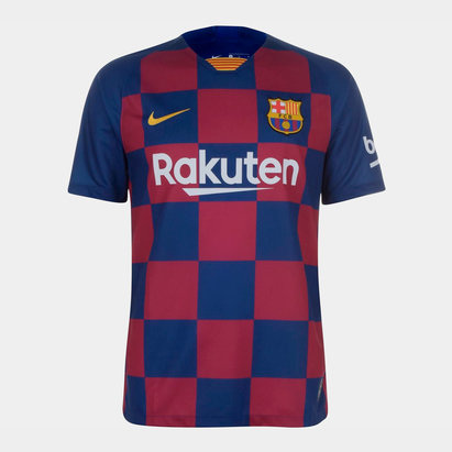 Nike FC Barcelona 19/20 Home S/S Football Shirt