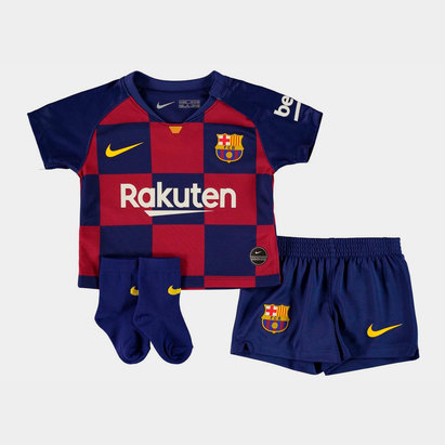 Nike FC Barcelona 19/20 Home Mini Kit