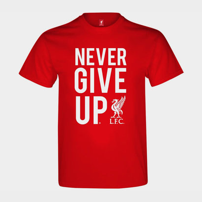 Source Lab Liverpool Never Give Up T Shirt Junior