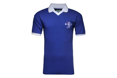 Score Draw Chelsea 1976 Retro Home S/S Football Shirt