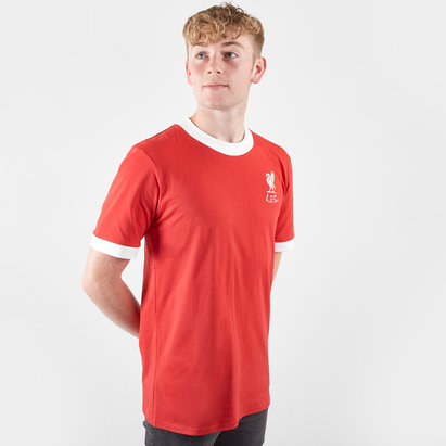 Score Draw Liverpool 1973 No 7 S/S Retro Football Shirt