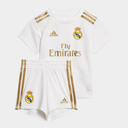 adidas Real Madrid 19/20 Home Baby Kit