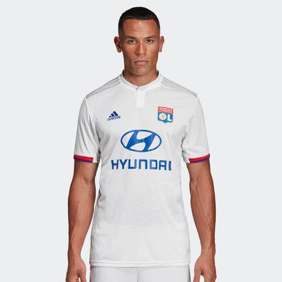 adidas Lyon 19/20 Home S/S Football Shirt