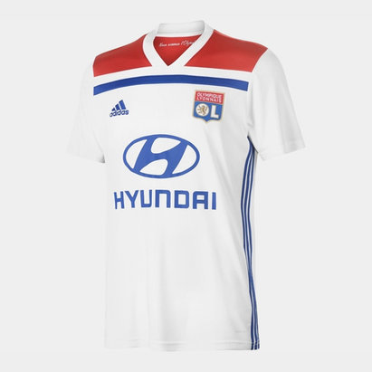 adidas Lyon Home Shirt 2018 2019