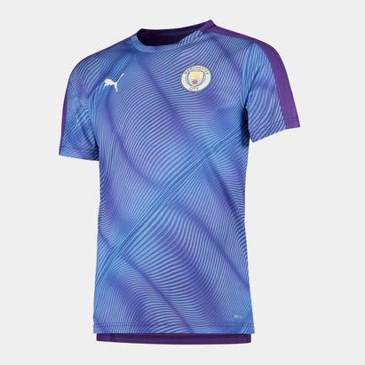 Puma Manchester City 19/20 Stadium Football T-Shirt