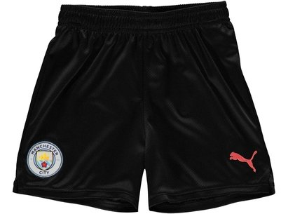 Puma Manchester City 19/20 Kids Away Football Shorts