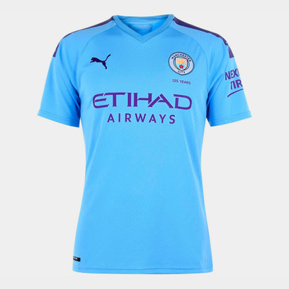 Puma Manchester City 19/20 Home S/S Football Shirt
