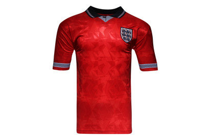 Score Draw England 1990 World Cup Finals Away Retro Football Shirt