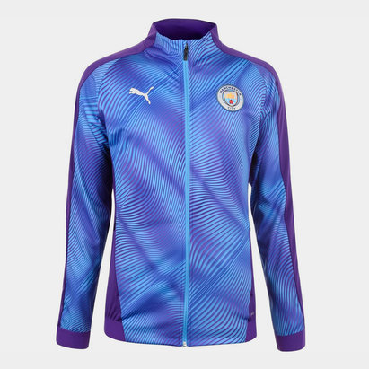 Puma Manchester City Stadium Jacket 2019 2020 Mens