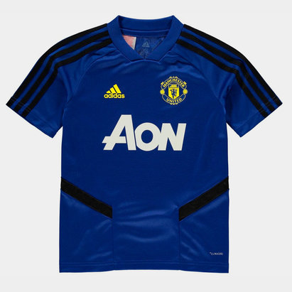 adidas Manchester United Training Shirt 2019 2020 Junior