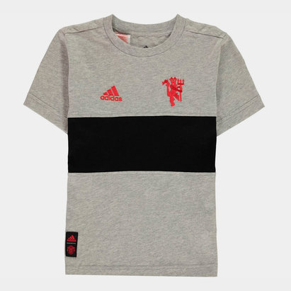 adidas Manchester United Graphic T-Shirt 2019 2020 Junior