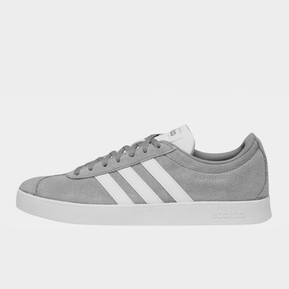 adidas VL Court 2 Suede Shoes Mens