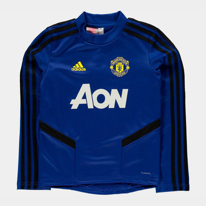 adidas Manchester United Training Top 2019 2020 Junior