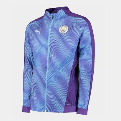 Puma Manchester City 19/20 Kids Stadium Football Jacket