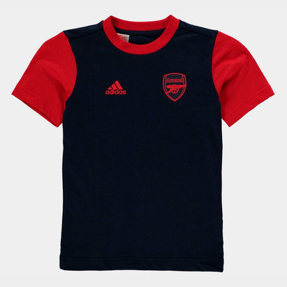 adidas Arsenal Graphic T Shirt Junior